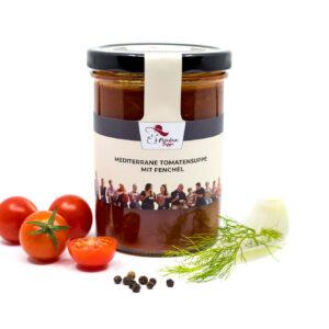 mediterrane Tomaten-Fenchel-Suppe