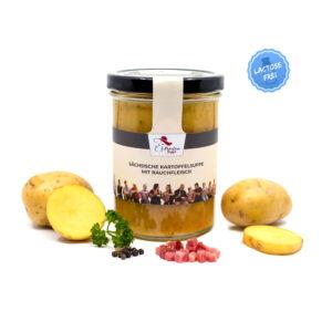 leckere Sächsische Kartoffelsuppe von Fräulein Suppe im Glas