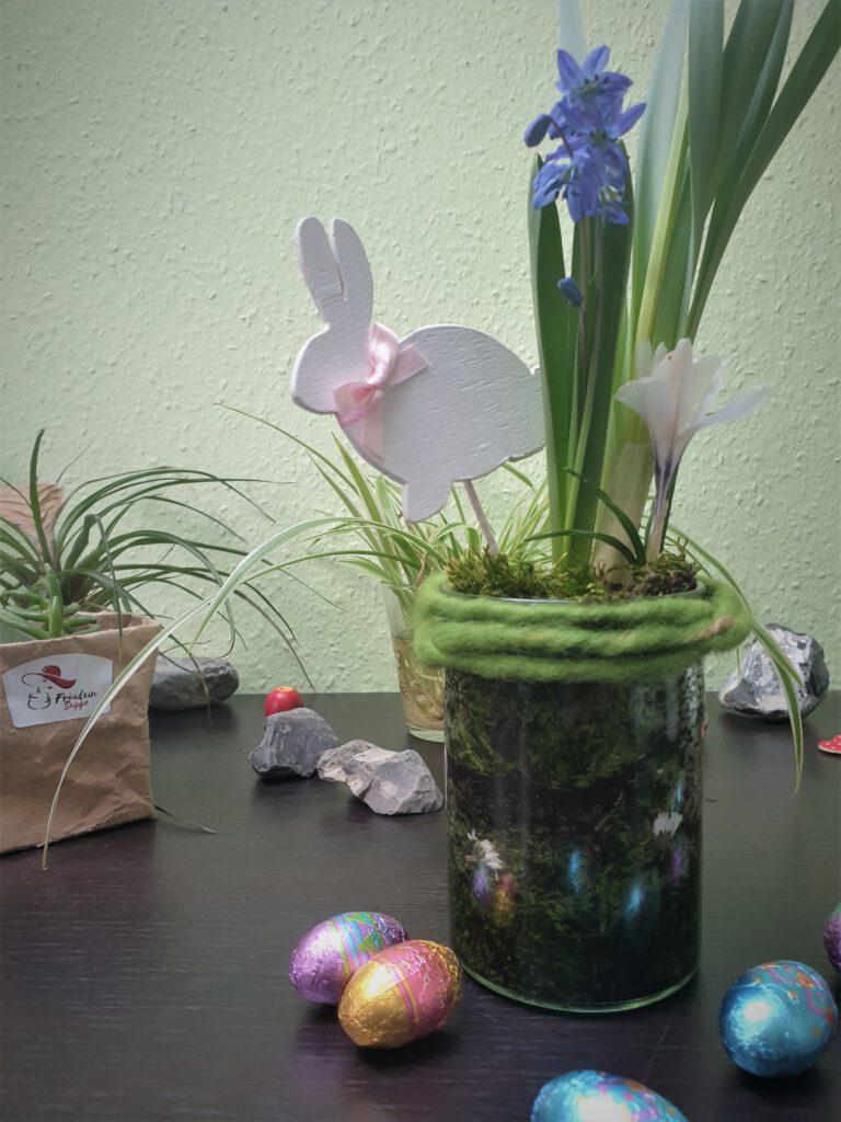 Ostergeschenk im Glas